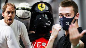 Как в Сочи прошел этап Формулы-1 в разгар пандемии: Квят, Дарт Вейдер, болельщица в кокошнике — фото