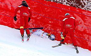 Ужасное падение легендарной горнолыжницы на ЧМ. Этот турнир станет последним в ее карьере