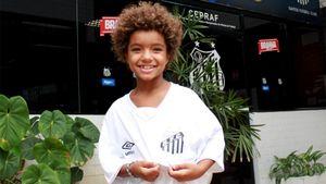 8-летний футболист стал самым молодым спортсменом, подписавшим контракт с Nike. Он превзошел Неймара и Месси