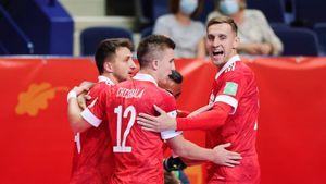 Сборная России обыграла Вьетнам и вышла в четвертьфинал чемпионата мира по мини-футболу