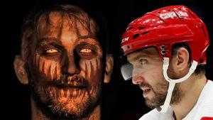Овечкин предстал в образе монстра в видео «Вашингтона» в честь Хэллоуина