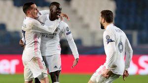 «Реал» в большинстве вырвал победу у «Аталанты». Миранчук остался в запасе