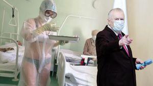 «Она же не голая». Жириновский поддержал медсестру в купальнике