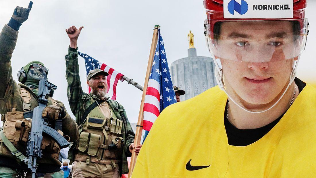 В Америке происходит клоунада. Тут еще хуже, чем в России. Хоккеист Задоров  о политике и сезоне НХЛ
