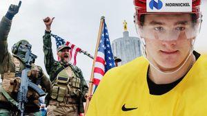 «В Америке происходит клоунада. Тут еще хуже, чем в России». Хоккеист Задоров — о политике и сезоне НХЛ