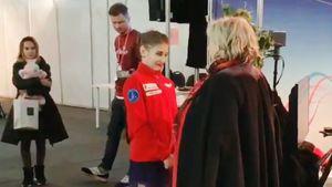 Тарасова лично поздравила Косторную спобедой начемпионате Европы: видео