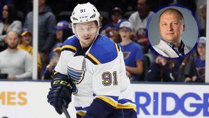 Русскую звезду прокатили с капитанством в НХЛ. В ответ агент Тарасенко жестко раскритиковал «Сент-Луис»
