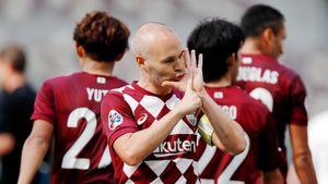 Иньеста в полном порядке! Легенда «Барсы» сих пор зажигает в Японии и входит в десятку самых богатых футболистов