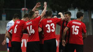 «Химки» выиграли Кубок ФНЛ, разгромив вфинале «Тамбов» 7:0