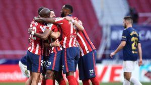 «Атлетико» вырвал победу у «Осасуны» и за тур до окончания Ла Лиги на 2 очка опережает «Реал»