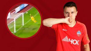«Енисей» забил супергол чемпионам России. Вратарь «Зенита» пропустил с35 метров