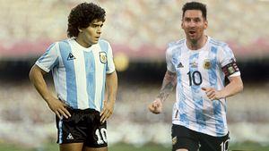 Кто круче: Месси или Марадона? Давайте сравним их по трофеям, голам и влиянию на Аргентину