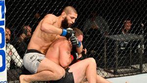 «Это шведский Хабиб». Чеченский боец Чимаев пришел в UFC и победил в стиле Нурмагомедова