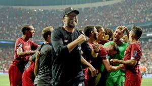 «Ливерпуль» показал, что происходило враздевалке после победы над «Челси» вигре заСуперкубок УЕФА