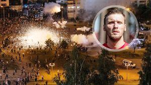 «Это беспредел: налет варваров без мозгов». Белорусский вратарь Костюкевич — о протестах против Лукашенко