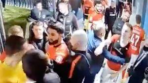Потасовка после скандального матча «Сочи» — «Спартак»: появилось полное видео с камер в подтрибунке