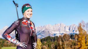 Хаузер стала первой австрийской биатлонисткой, победившей на ЧМ