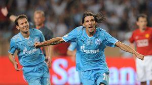 Исторический гол «Зенита» в Суперкубке Европы. Данни забил «МЮ» после всего одной тренировки в новом клубе