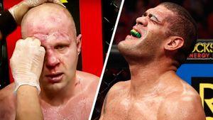 10 лет назад 120-килограммовый бразилец избил Емельяненко в США. После боя Сильва плакал и падал к ногам Федора