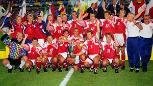 Дания уже выигрывала Евро, хотя на тот турнир сборная поехала только из-за войны. Теперь она снова в полуфинале