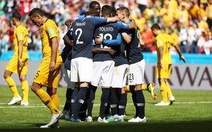 Франция чудом избежала позора в матче с Австралией. Ее спасли видеоповторы