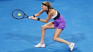 Квитова выиграла турнир в Дохе, отдав в финале Мугурусе лишь 3 гейма