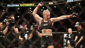 Русская девушка-боец доминирует в UFC. Шевченко защитила пояс, финишировав бразильянку Андраде за 8 минут