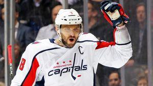 Овечкин вышел начистое 9-е место вистории снайперов НХЛ