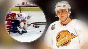 Знаменитый гол советского хоккеиста Буре в США. Он красиво уложил на лед вратаря «Вашингтона»: видео