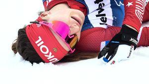 Женскую сборную России по лыжам прокляли: теперь Непряева сломала руку. И это все не шутка