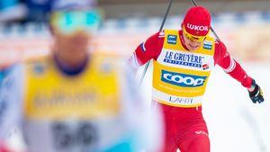 Русский лыжник Большунов снова лидер Кубка мира. У России две медали в 1-й день этапа в Давосе