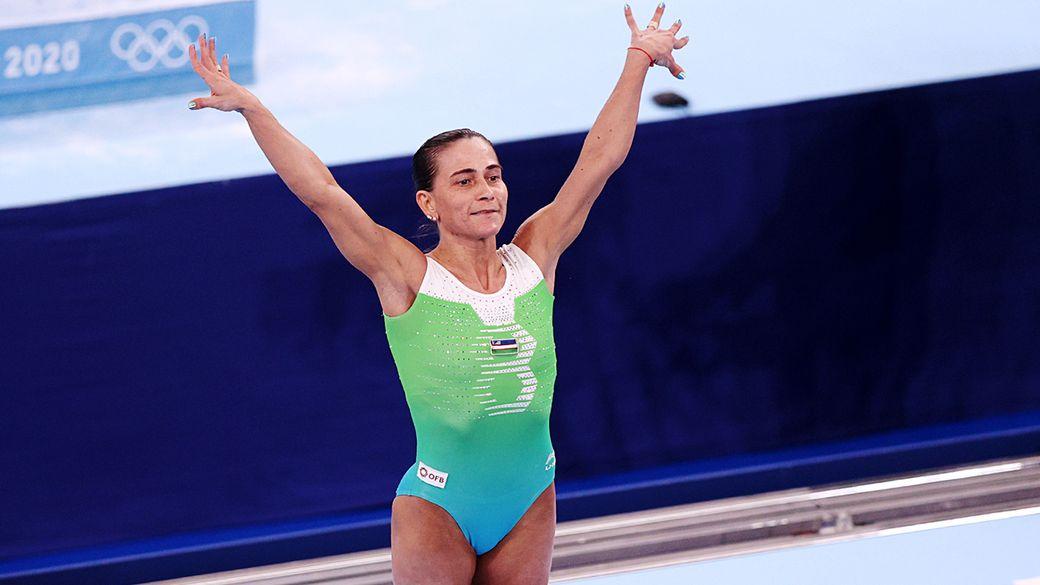 Спасла сына от рака крови, попала в Книгу рекордов Гиннесса. Зачем гимнастка Чусовитина вернулась в спорт в 46 лет