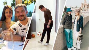 Шашлыки на даче Овечкина, футболист Малкин и культурная Москва с Панариным. Русские звезды хоккея на отдыхе