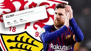 Фанаты «Штутгарта» хотят сброситься на трансфер Месси из «Барселоны». Собрано уже 3 тысячи евро