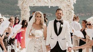 Полузащитник «Эвертона» Сигурдссон женился на Мисс Исландия