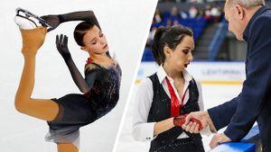 Щербакова сличным рекордом лидирует наГран-при Китая, Туктамышева упала иможет непопасть вфинал