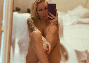 Жена украинского футболиста сфотографировалась голой: «Офигевайте от моей красоты и скромности»