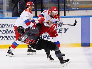 18-летний русский талант Подколзин уложил соперника налед мощным силовым: видео