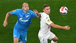Азмун и Дзюба сделали победный гол, «Зенит» обыграл ЦСКА в центральном матче тура. Как это было