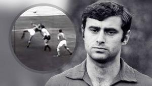 Один из самых красивых голов сборной СССР. В 1967-м Бышовец забил австрийцам в падении через себя: видео