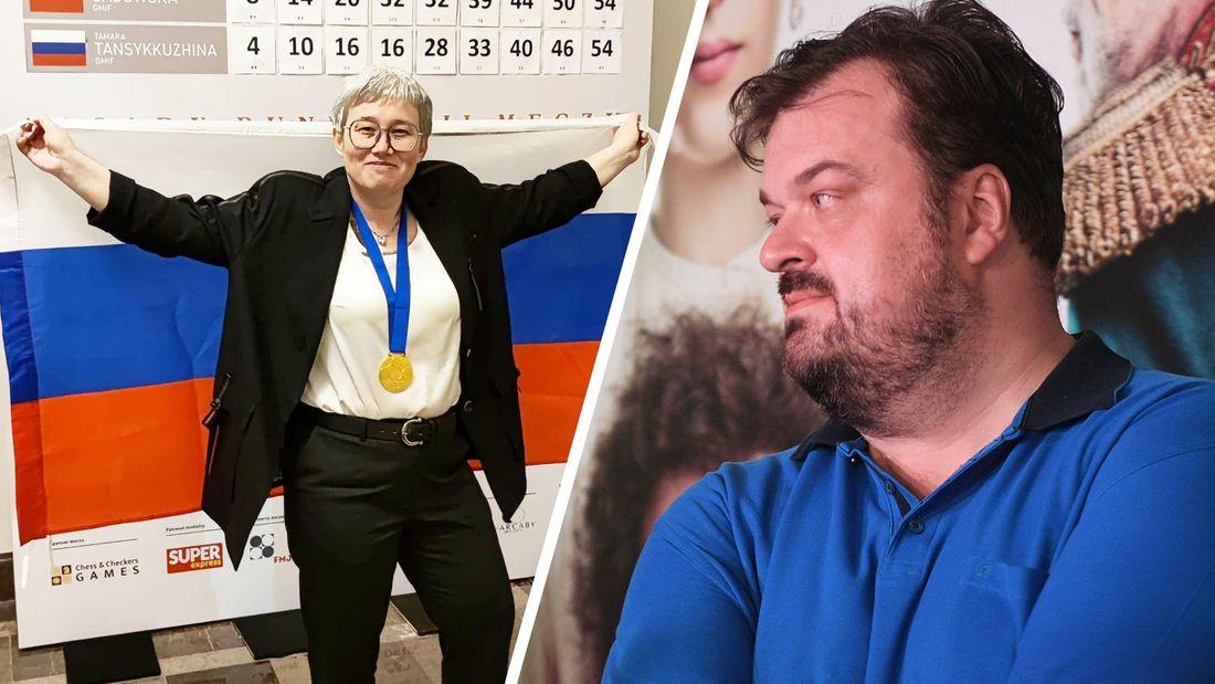 В Госдуму пойдет тетя. Уткин отреагировал на фото Тансыккужиной с флагом России после победы в Варшаве
