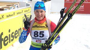 Россиянка Егорова поделила первое место с норвежкой Калькенберг в спринте на этапе Кубка IBU