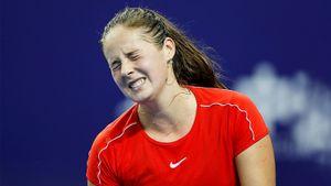 Сильнейшая русская теннисистка забыла, как подавать, ипроиграла 12 геймов подряд