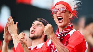 «Who is Russia?» Как датские болельщики праздновали победу над Россией