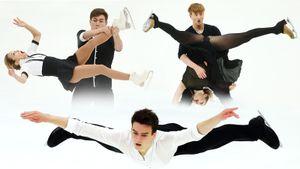 Коляда, Самарин, Бойкова/Козловский и другие русские лидеры на контрольных прокатах сборной: фото