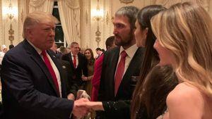 Овечкин поужинал сТрампом вего резиденции. Как Ови попал нарождественский вечер президентаСША?