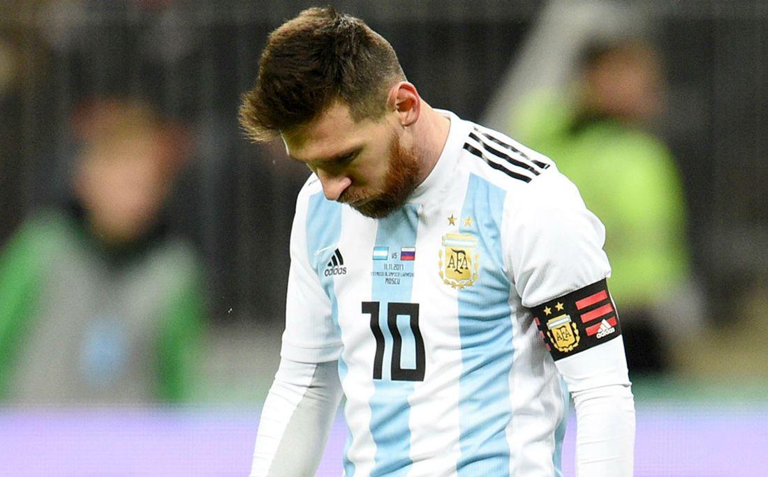 Сборная Аргентины повторила собственный антирекорд