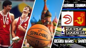 Гимн США на Красной площади, теплая водка, шикарный баскет. Вспоминаем приезд «Атланты» в СССР