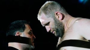 Русского тяжа Харитонова жестко добили на Bellator в Израиле. Он не проигрывал с 2017-го