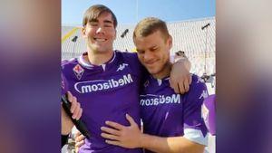 Кокорин дал интервью в обнимку с одноклубником по «Фиорентине»: видео